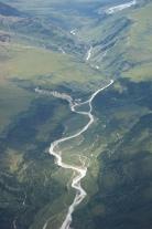 Aerial view of Denali