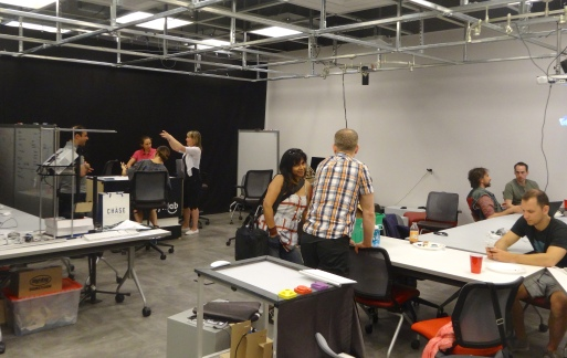"""Tangible Jam"" hosted at Ryerson University's Synaesthetic Media Lab (SynLab)"